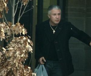 Lorenzo Giordano, le jour de sa remise en liberté dans une maison de transition de Montréal, le 9 décembre 2015