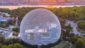 L'accès à la Biosphère est GRATUIT temporairement