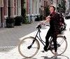 Salomé Corbo se plaît à visiter Amsterdam comme les locaux.