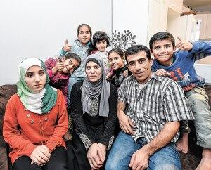 En 2016, Le Journal avait rencontré Talal Al Mohamad et sa famille de huit enfants. Depuis, la petite Lyan est né au Québec.
