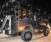 Le nouveau véhicule du groupe d'intervention tactique de la Sûreté du Québec a été utilisé pour la première fois vendredi soir, lors d'une perquisition, dans le cadre d'une enquête qui vise des membres en règle du chapitre de Trois-Rivières des Hells Angels.