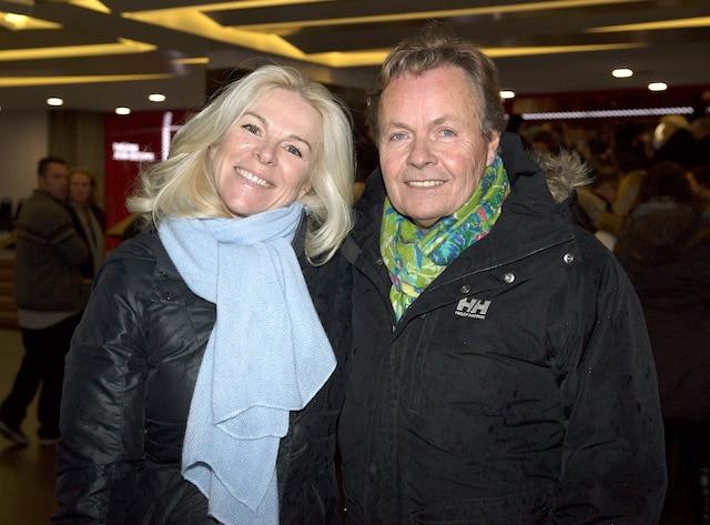 Isabelle Maréchal et son conjoint
