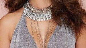Image principale de l'article Le maxi collier à chaînettes