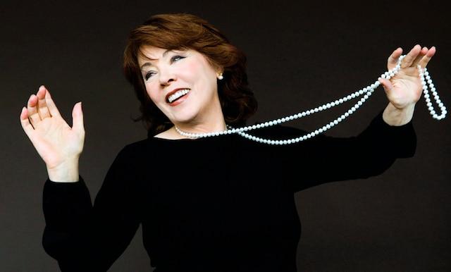 La chanteuse Nicole Martin