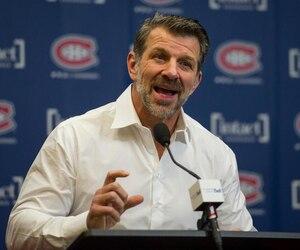 Le directeur général du Canadien, Marc Bergevin, n'a pas dévoilé son jeu quant à ses intentions durant la saison morte, lors de son bilan annuel.