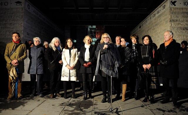 Manifestation contre la culture du viol à Québec.