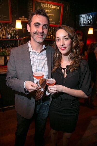 Les propriétaires Fabien Maillard et Gabrielle Panaccio.