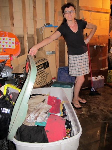 Près de 200 résidents du nord de Montréal ont vu leur sous-sol inondé, mardi soir, en raison des fortes pluies qui se sont abattues sur la région.