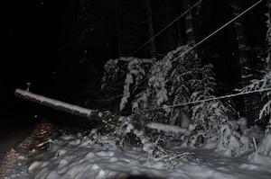 Plus de 4000 personnes sans électricité