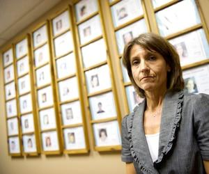 Montréal, le 30 septembre 2010 - Pina Arcamone, directrice du réseau Enfant-Retour.