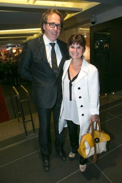 Guylaine Tremblay et son conjoint Christian Lebel.