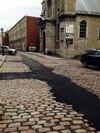 GazMétro n'a pas remis les pavés à la suite de travaux