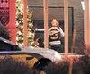 Une faible présence policière a été observée. Une auto-patrouille de la Sûreté du Québec s'est trouvée devant l'Hôtel de la Rive de Sorel après qu'unconvive de l'événement ait semblé avoir été intercepté pour ce qui s'apparente à une infraction au Code de la sécurité routière.