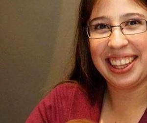 Karine Major irait bien, selon sa famille. Elle a été arrêtée jeudi pour méfait public.