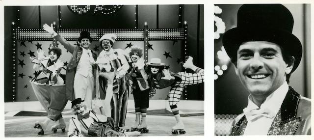 Pierre Lalonde à son émission Circus saison 1983-84 sur les ondes de CTV PHOTO COURTOISIE RESEAU CTV / LES ARCHIVES / LE JOURNAL DE MONTREAL