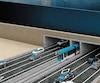 Les ingénieurs de WSP calculent qu'il faudra entre 15 et 17 ans pour mener à terme un tunnel entre Québec et Léviset entre 14 et 16 ans pour un pont. Ci-dessus, une illustration dévoilée en mars 2014 dans le cadre d'une campagne favorisant un troisième lien par la Chambre de commerce de Lévis.