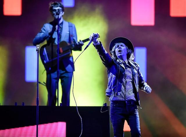 Beck sur les plaines d Abraham dans le cadre du Festival d'été de Québec, jeudi le 12 Juillet 2018.
