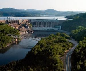 Barrage hydroélectrique Jean Lesage - hydro Québec