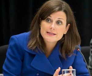 <b>Stéphanie Vallée</b><br /><i>Ministre de la justice</i>
