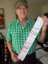 Michael Reilley a reçu une contravention de 162 $ pour avoir klaxonné inutilement