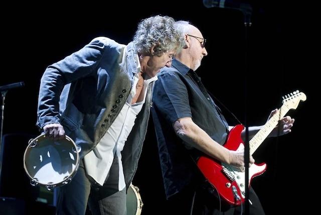 Prestation du groupe The Who au Centre Bell