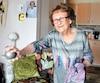 À 102 ans, Marie May Coulombe habite dans un logement pour personnes âgées autonomes.