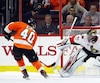 Jordan Weal a marqué face à Craig Anderson pour réussir le seul but de la séance de tirs de barrage et procurer la victoire aux Flyers face aux Sénateurs.
