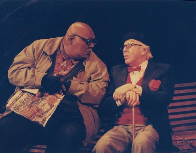 John Applin et Paul Hébert au Théâtre La Bordée en 1997