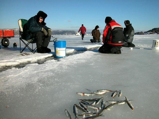 Java le jeu sur le téléphone la pêche