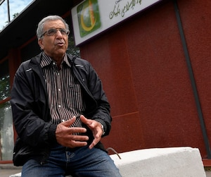 Mohamed Kesri, responsable du dossier du cimetière musulman à la mosquée de Québec.