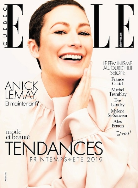 Couverture Anick Lemay