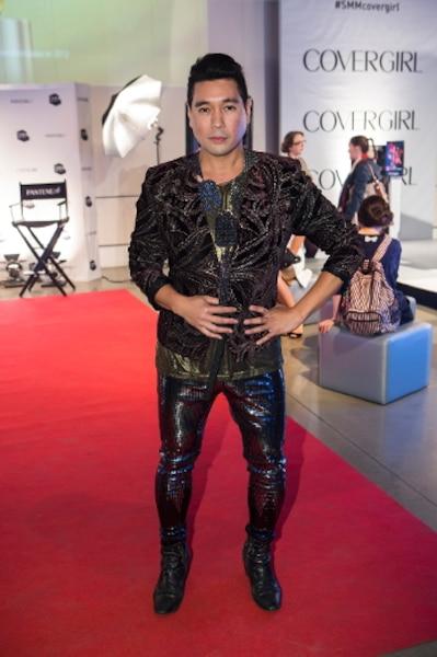 Le Torontois Jeff Rustia a du style! Pas étonnant qu'on le retrouve à la barre de Club Fashion TV.
