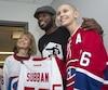 En plus d'un don de 10 M$, le défenseur s'est engagé à aider la Fondation de l'Hôpital de Montréal pour enfants en devenant le porte-parole de ses campagnes de financement et de ses événements.