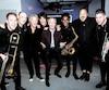 Paul McCartney et ses musiciens, photographiés en coulisses de son spectacle au Centre Vidéotron, qui lançait la tournée Freshen Up. Il a publié la photo sur les réseaux sociaux.