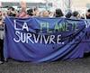 Manifestation sur le climat, vendredi le 15 mars 2019, à Québec.