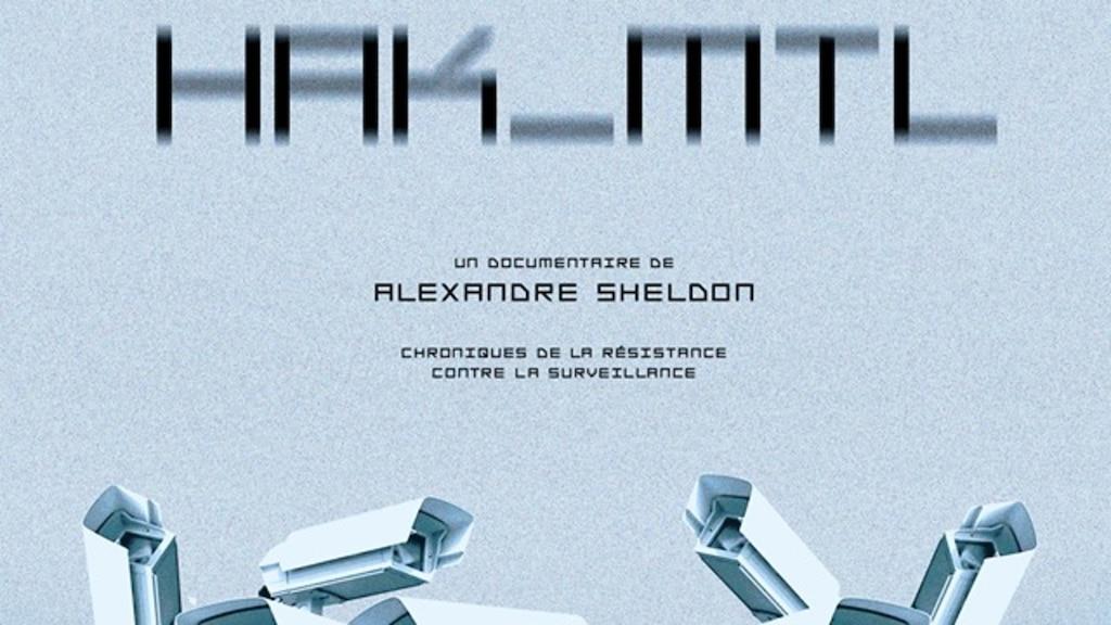 «HAK_MTL», un film documentaire sur la surveillance de la vie privée