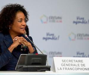 La secrétaire générale de la Francophonie, Michaëlle Jean