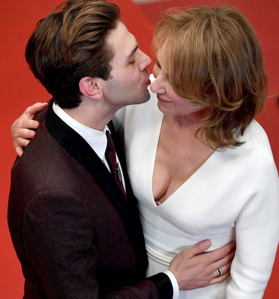 Xavier Dolan et Nathalie Baye.