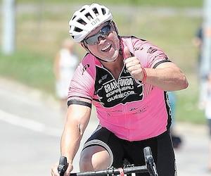 En tournage, Dave Morissette traversera une partie du Québec à vélo, cet été.