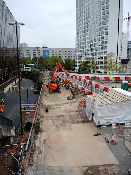 La principale artère qui encerclait le centre-ville de Birmingham, en Angleterre, sera transformée en rue partagée.