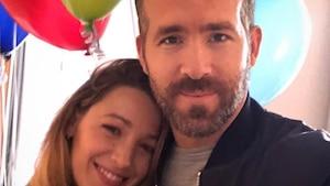 Ryan Reynolds souhaite bonne fête à Blake Lively