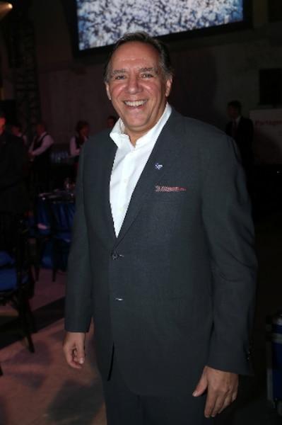 Le chef de la CAQ, François Legault.