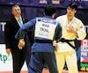 Victorieux contre le Philippin Shugen Nakano à son premier combat, Jacob Valois a ensuite tracé son chemin jusqu'à la médaille de bronze dans la catégorie des –66 kilos.
