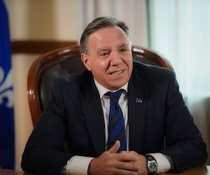 Le premier ministre du Québec, François Legault.
