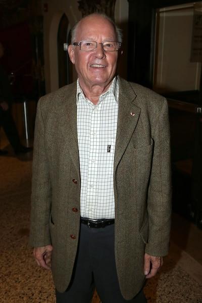 Bernard Landry à la première de la pièce de théâtre La chasse Galerie au théâtre Denise Pelletier, le 28 septembre 2012.