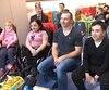 Brendan Gallagher a visité les enfants malades de l'Hôpital Shriners, lundi.