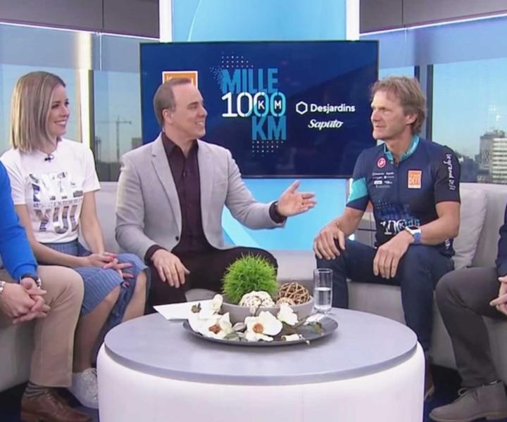 Le parcours 1000 km du Grand défi Pierre Lavoie 2019