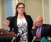La ministre Lucie Charlebois est responsable de mettre en place la loi qui encadrera le cannabis au Québec.