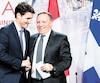 Le premier ministre du Québec, François Legault, a froissé certains de ses collègues en se posant comme défenseur de l'environnement lors d'une rencontre interprovinciale tenue vendredi à Montréal. Son plan a été louangé par le premier ministre canadien, Justin Trudeau.