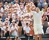 Novak Djokovic est le champion en titre du tournoi de Wimbledon.